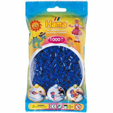 Hama Beads Bag Blue 1,000