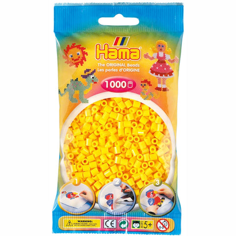 Hama Beads Bag Yellow 1,000