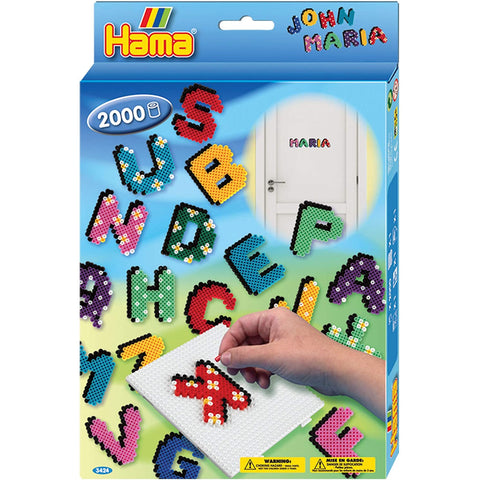 Hama Letters and Numbers 2000 Beads