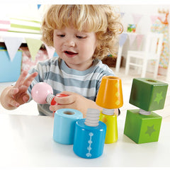 Hape Twist and Turnables Wooden 8pc 2