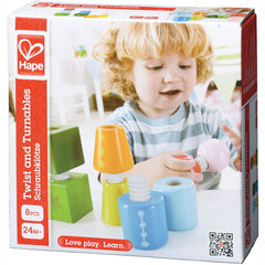 Hape Twist and Turnables Wooden 8pc