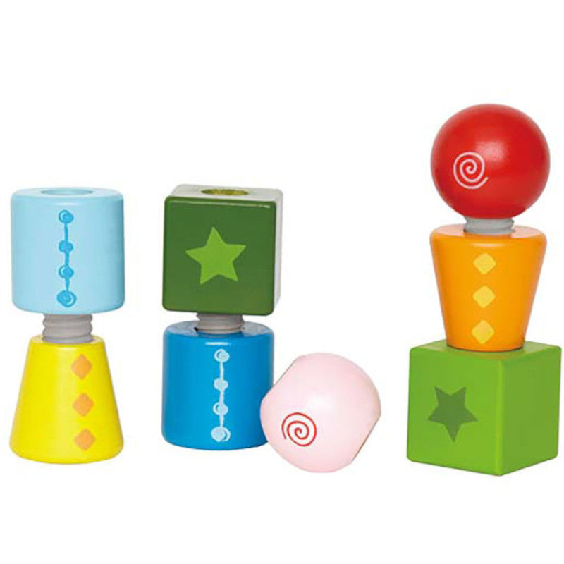 Hape Twist and Turnables Wooden 8pc 1
