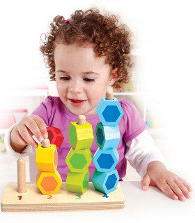 Hape Counting Stacker Wooden