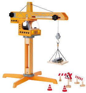 Hape Crane Lift 10pc