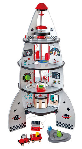 Hape Rocket Ship Four-Stage Wooden