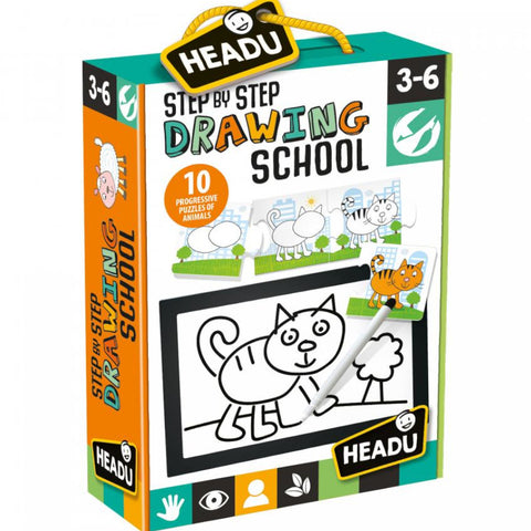 Headu Step by Step Drawing School