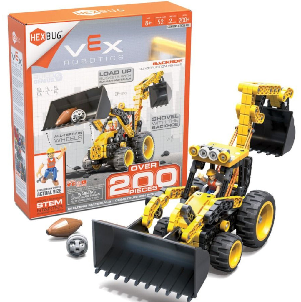 Hexbug Vex Robotics Backhoe 200+pieces 1