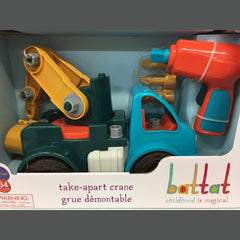 Battat Take Apart Truck Crane 1