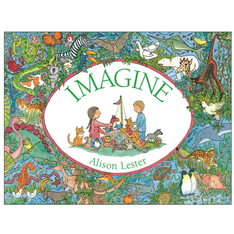 Imagine Board Book