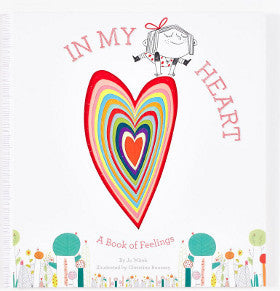 In My Heart HB A Book of Feelings