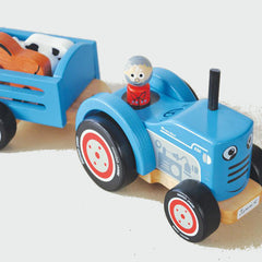 Indigo Jamm Tractor Ted Wooden with 5 Animals 4