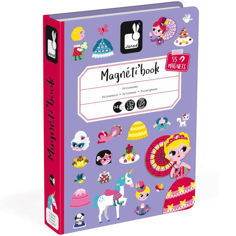 Janod Magnetibook Princess 55 Magnets