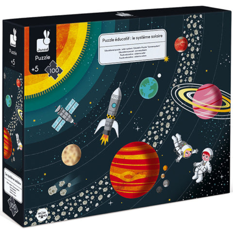 Janod Puzzle Solar System 100pc