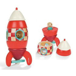 Janod Magnetic Rocket Wooden