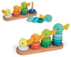 Janod Stacker Duck Family