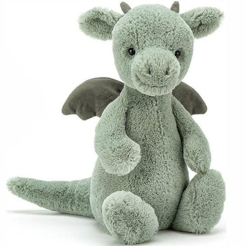 Jellycat Soft Toy Bashful Dragon Medium