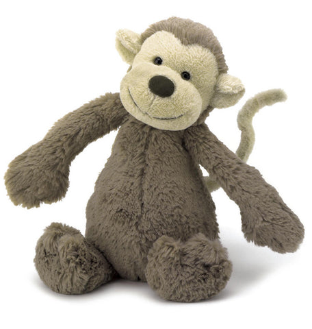 Jellycat Soft Toy Bashful Monkey Medium