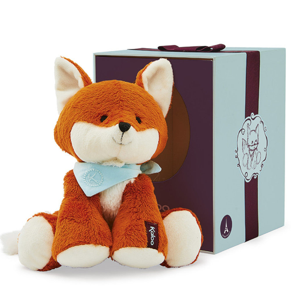 Kaloo Soft Toy Fox Boxed 19cm