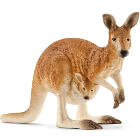 Schleich Kangaroo with Joey