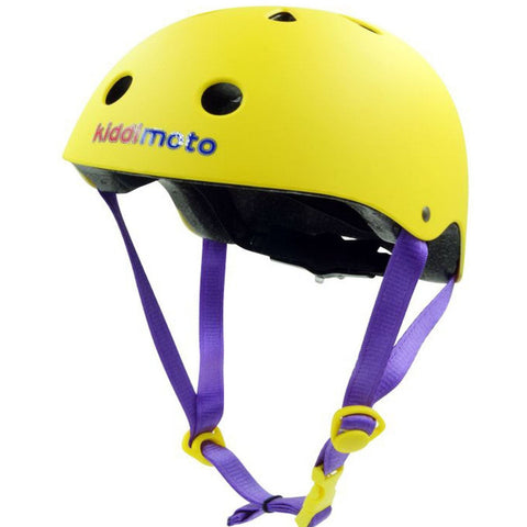Kiddimoto Helmet Yellow Matt Medium