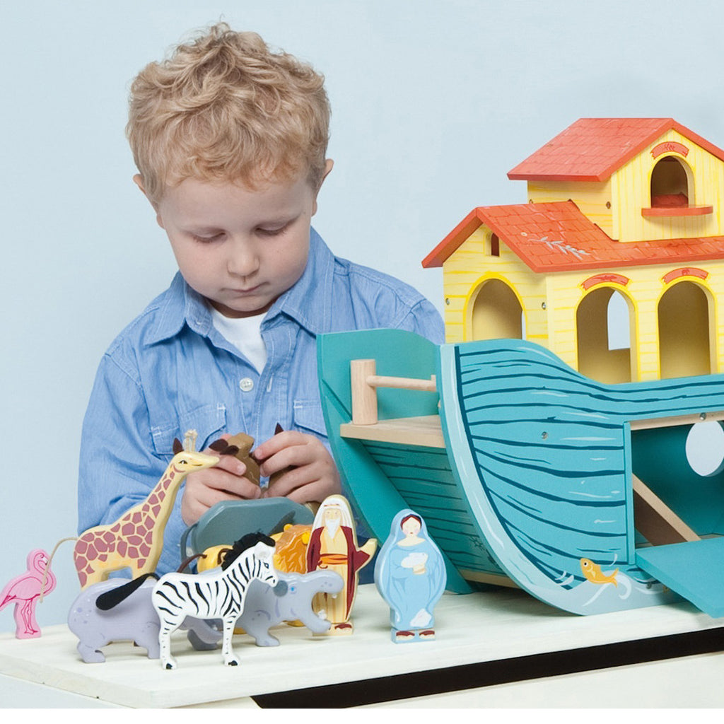 Le Toy Van Noah's Great Ark Set 4