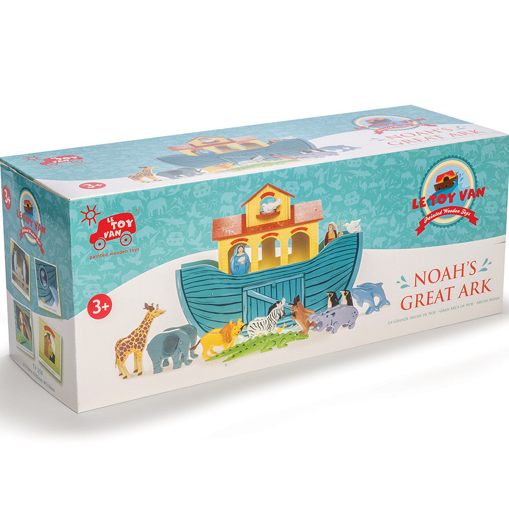 Le Toy Van Noah's Great Ark Set 2