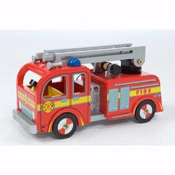Le Toy Van Fire Engine Wooden