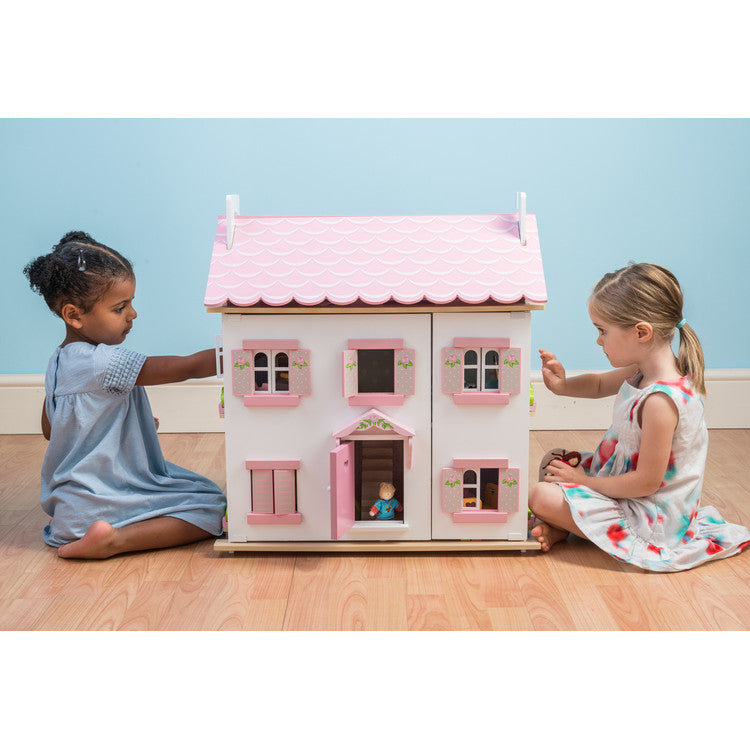 Le Toy Van Wooden Dolls House Sophie's House 3