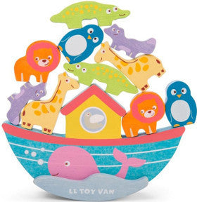 Le Toy Van Noah's Balancing Ark with 10 Animals Wooden