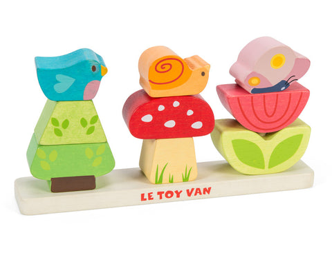 Le Toy Van Petilou My Stacking Garden Wooden
