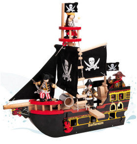 Le Toy Van Pirate Ship Barbarossa