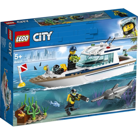 LEGO City Diving Yacht 60221 3