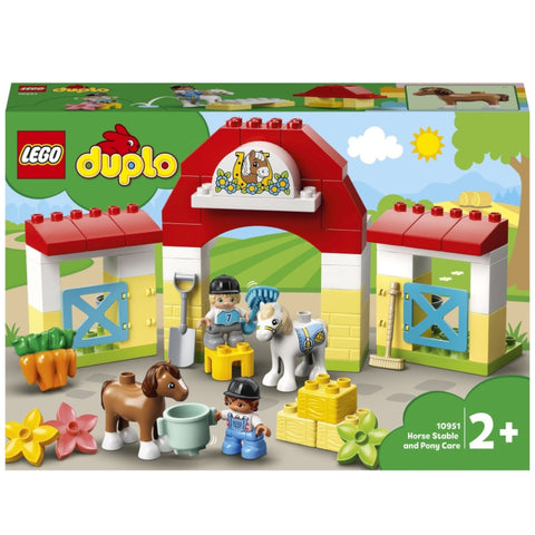 DUPLO by LEGO Horse Stable and Pony Care 10951