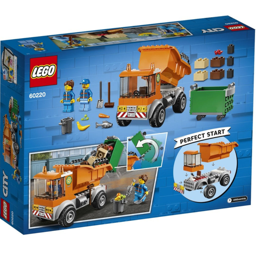 LEGO City Garbage Truck 60220 4