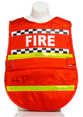 Little Heroes Dress Up Fireman Vest - One Size
