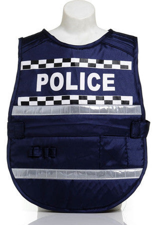 Little Heroes Dress Up Police Vest - One Size