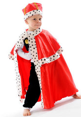 Little Heros Dress Up King Cape and Hat
