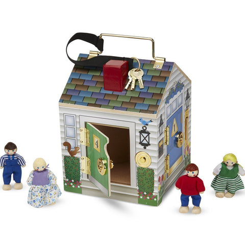 Melissa and Doug Doorbell House Wooden