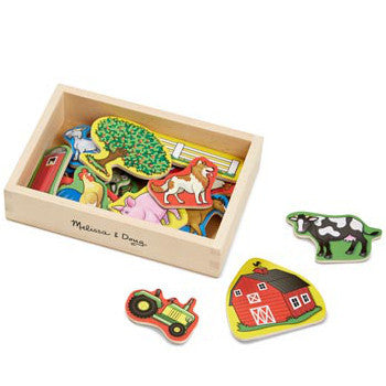 Melissa and Doug Magnetic Farm in Box Wooden 20pcs