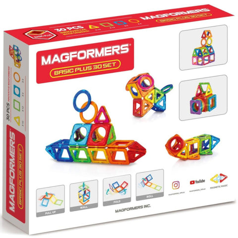 Magformers Basic Plus 30pc