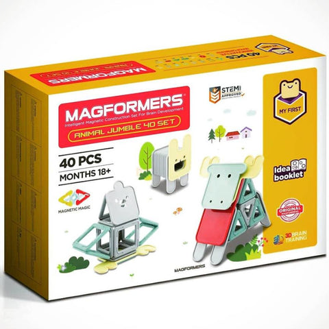 Magformers Animal Jumble 40pc