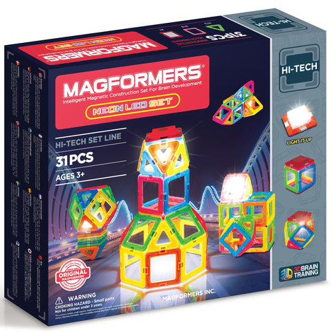 Magformers Neon Led Set 31pc