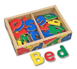 Melissa and Doug Alphabet Magnets in Box