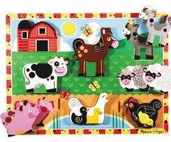 Melissa and Doug Chunky Puzzle Farm