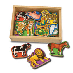 Melissa and Doug Animal Magnets