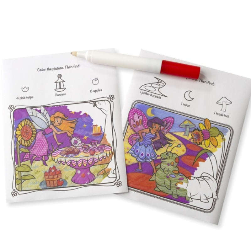 Melissa & Doug Colour Blast Fairies On the Go 1