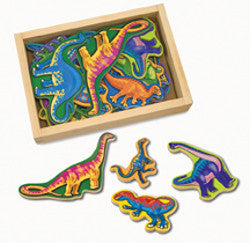 Melissa and Doug Dinosaur Magnets