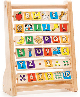Melissa and Doug Abacus ABC and 123