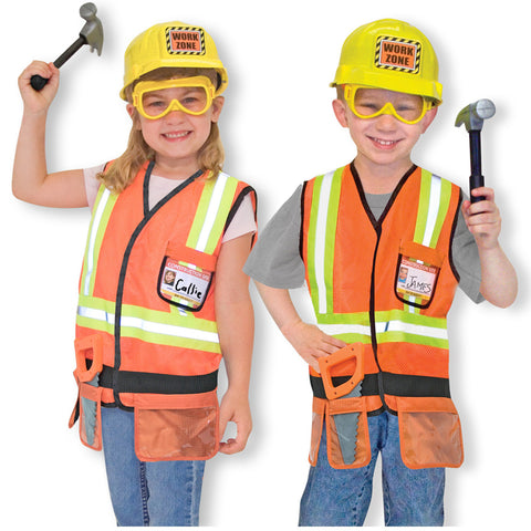 Melissa and Doug Dress Up Construction Worker
