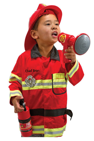 Melissa and Doug Dress Up Fire Chief